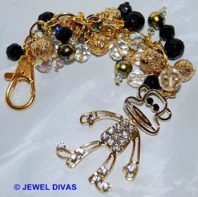 AFRICAN SAFARI: Gold Monkey Jewellery available at Jewel Divas!