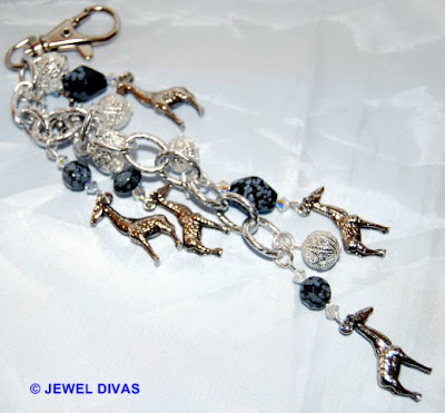 AFRICAN SAFARI: Giraffe jewellery still for sale at Jewel Divas.