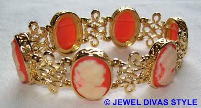 My Personal Collection: Orange jewellery and clothes