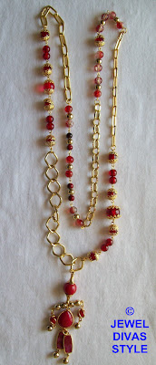 GOLD+-+NECKLACE+-+BEADIE+BOT+-+2+MADE
