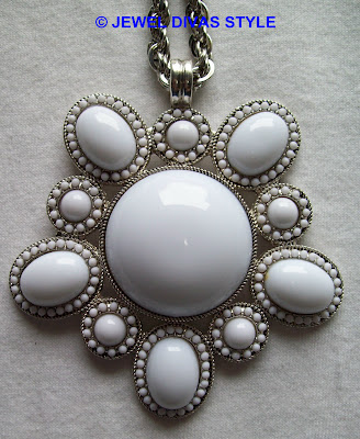My Personal Collection: White jewellery