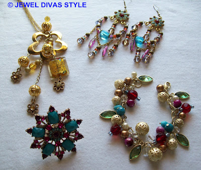 My Personal Collection: Gold Multi jewellery