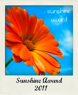 PRESS & SOCIAL MEDIA: I got a sunshine award!