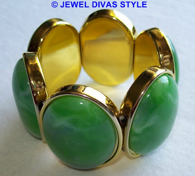 My Personal Collection: Green jewellery