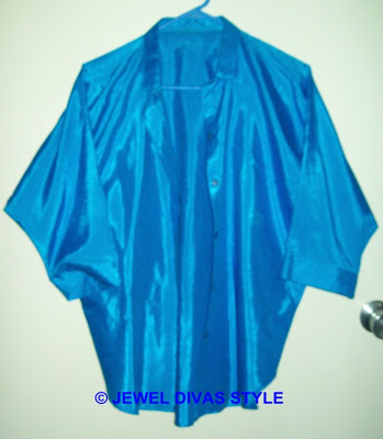 My Personal Collection: Blue clothes