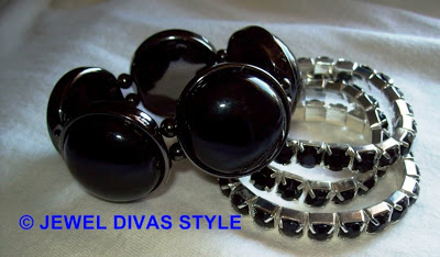 My Personal Collection: Black jewellery