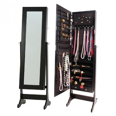 LUST HAVES: Dress mirror and jewellery cabinet in one