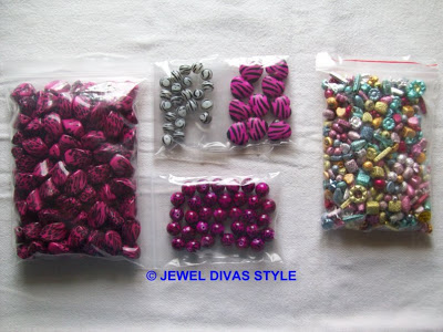 HOW TO: Make a pink animal bead necklace