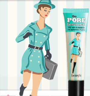 HOW TO: Cover large pores with Benefit's Porefessional
