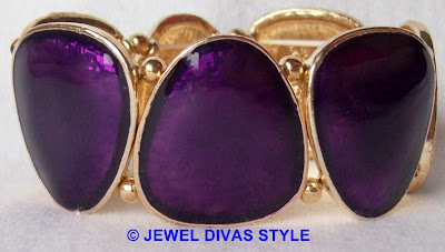 MY PERSONAL COLLECTION: Purple jewellery