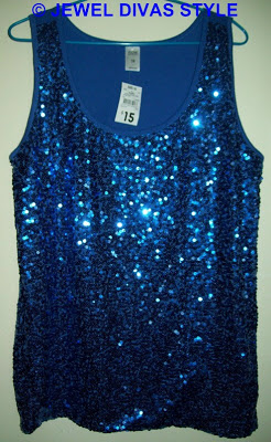 MY PERSONAL COLLECTION: Blue clothes. My sparkly disco ball!