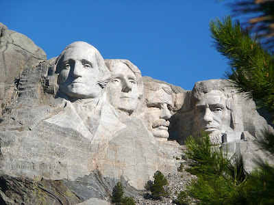 PLACES I WANT TO GO: Mount Rushmore in South Dakota