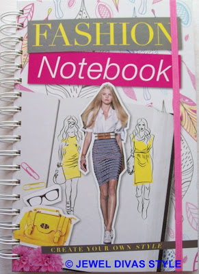 STYLE NOTES: Fashion Notebook, create your own style