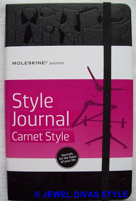 STYLE NOTES: Moleskine Passions Style Journal