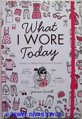 STYLE NOTES: What I Wore Today, doodle yourself into a style icon!