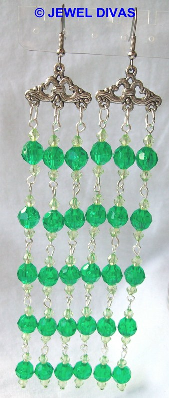 AC EMERALD earrings