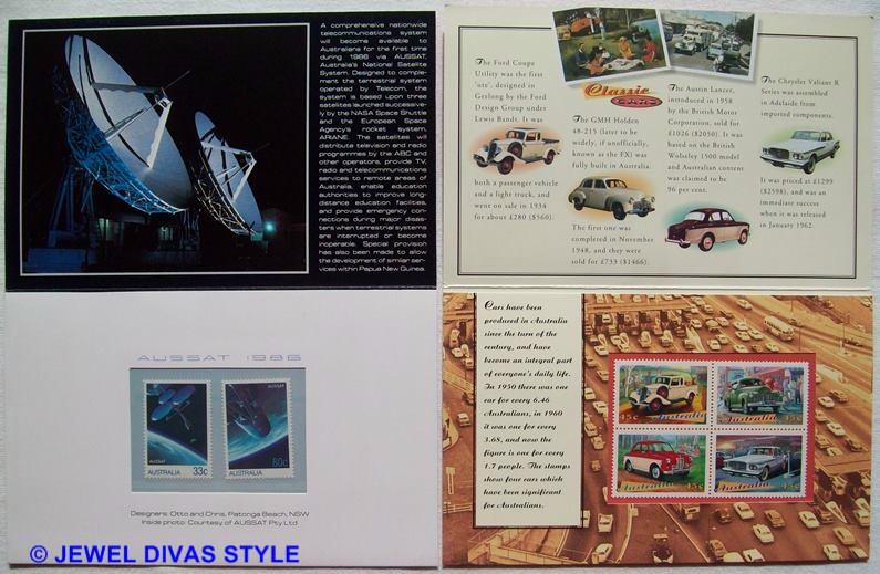 SPACE AND CAR STAMPS