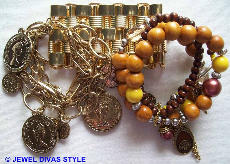 MY PERSONAL COLLECTION: Yellow, Gold and Gold Multi jewellery