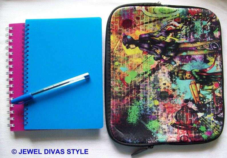 graffiti notebook purse and notebooks