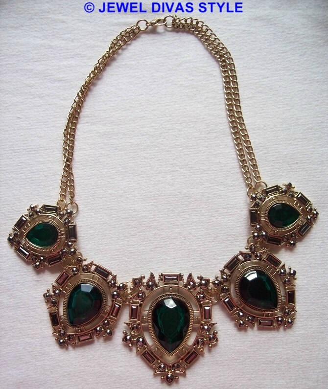GREEN SET NECKLACE