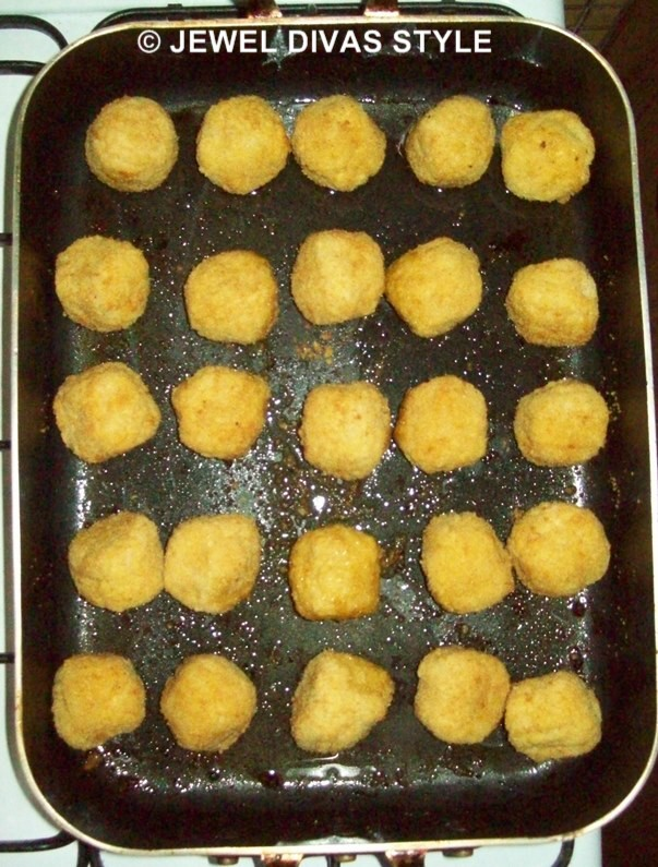 Colonial Farm Garlic Chicken Balls