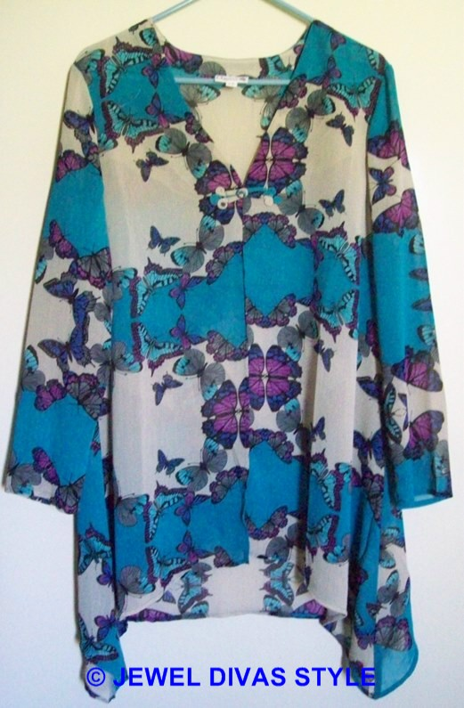 Millers butterfly over shirt