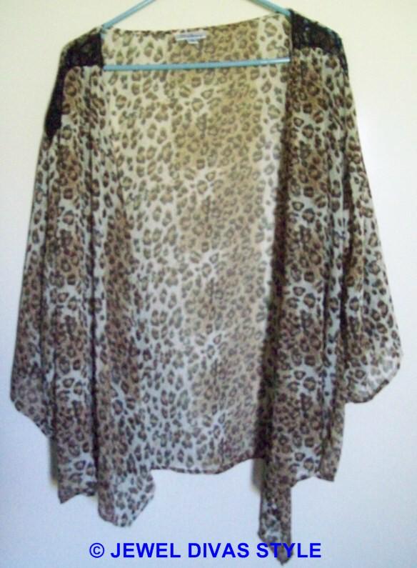 Millers animal print blouse