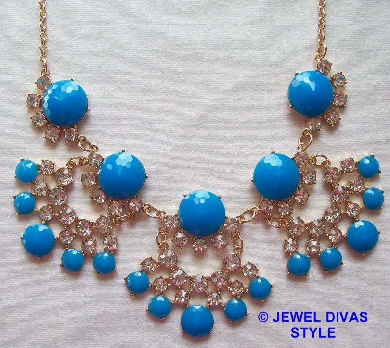 Blue Colette necklace