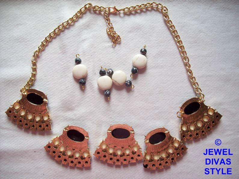 black and white ebay necklace undone