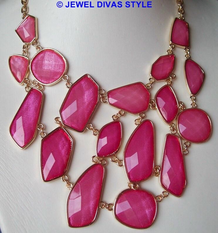 Equip Accessories pink necklace