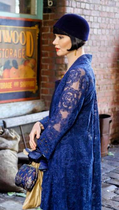 FASHION STYLE: The Fabulously Glamorous World of The Honourable Miss Phryne Fisher, Lady Detective, part 7