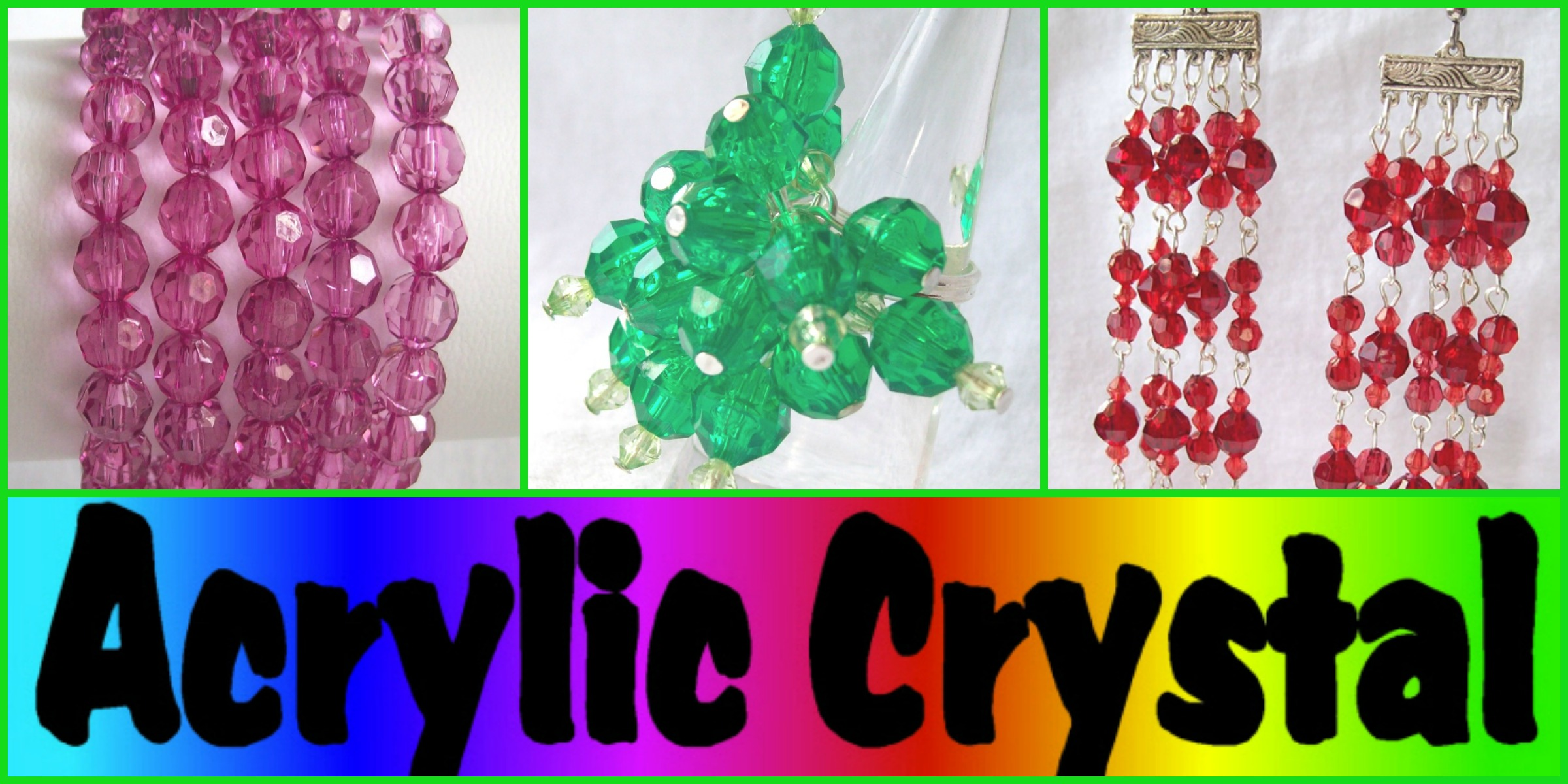 ACRYLIC CRYSTAL: Available now at Jewel Divas