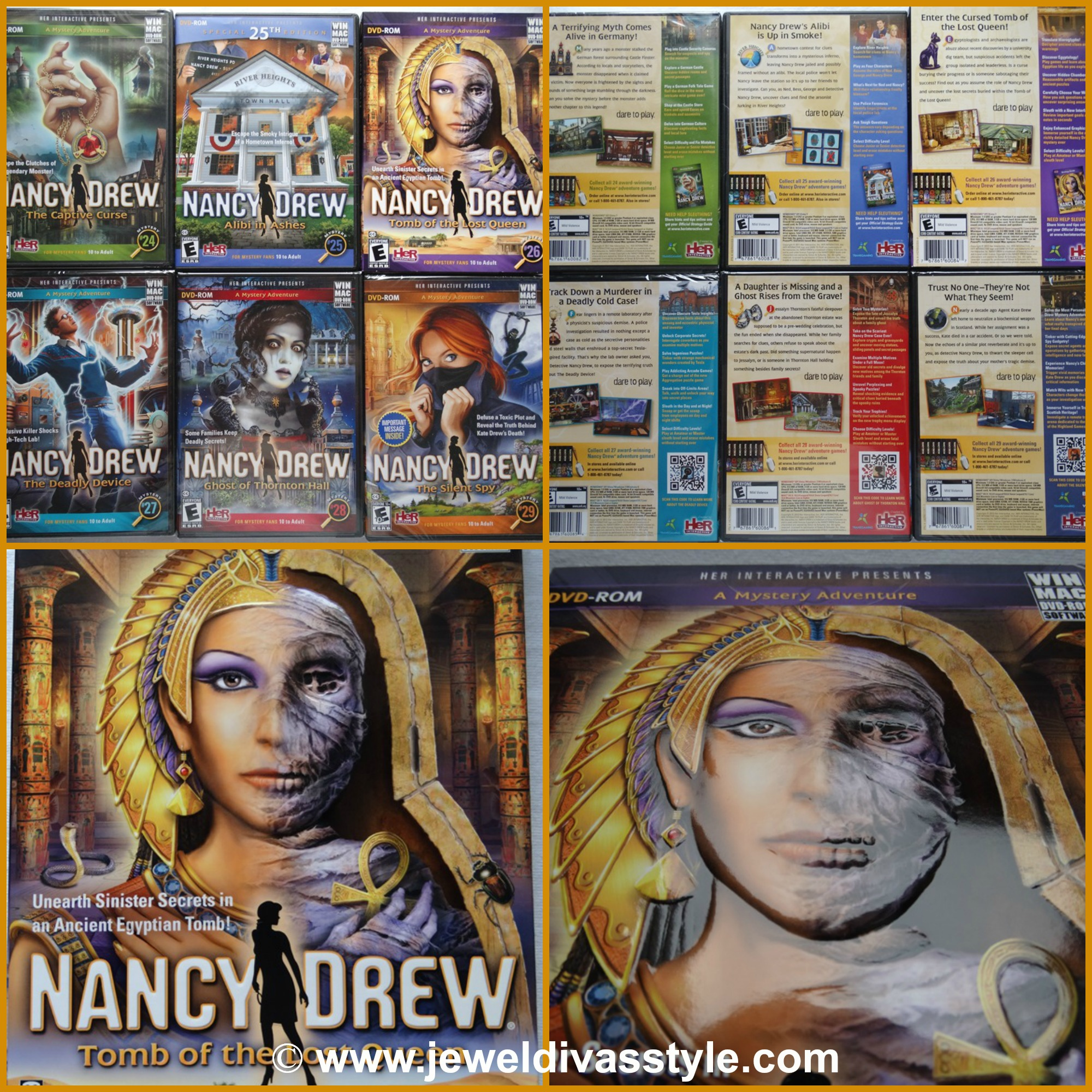 MY OBSESSIONS: Nancy Drew PC Games