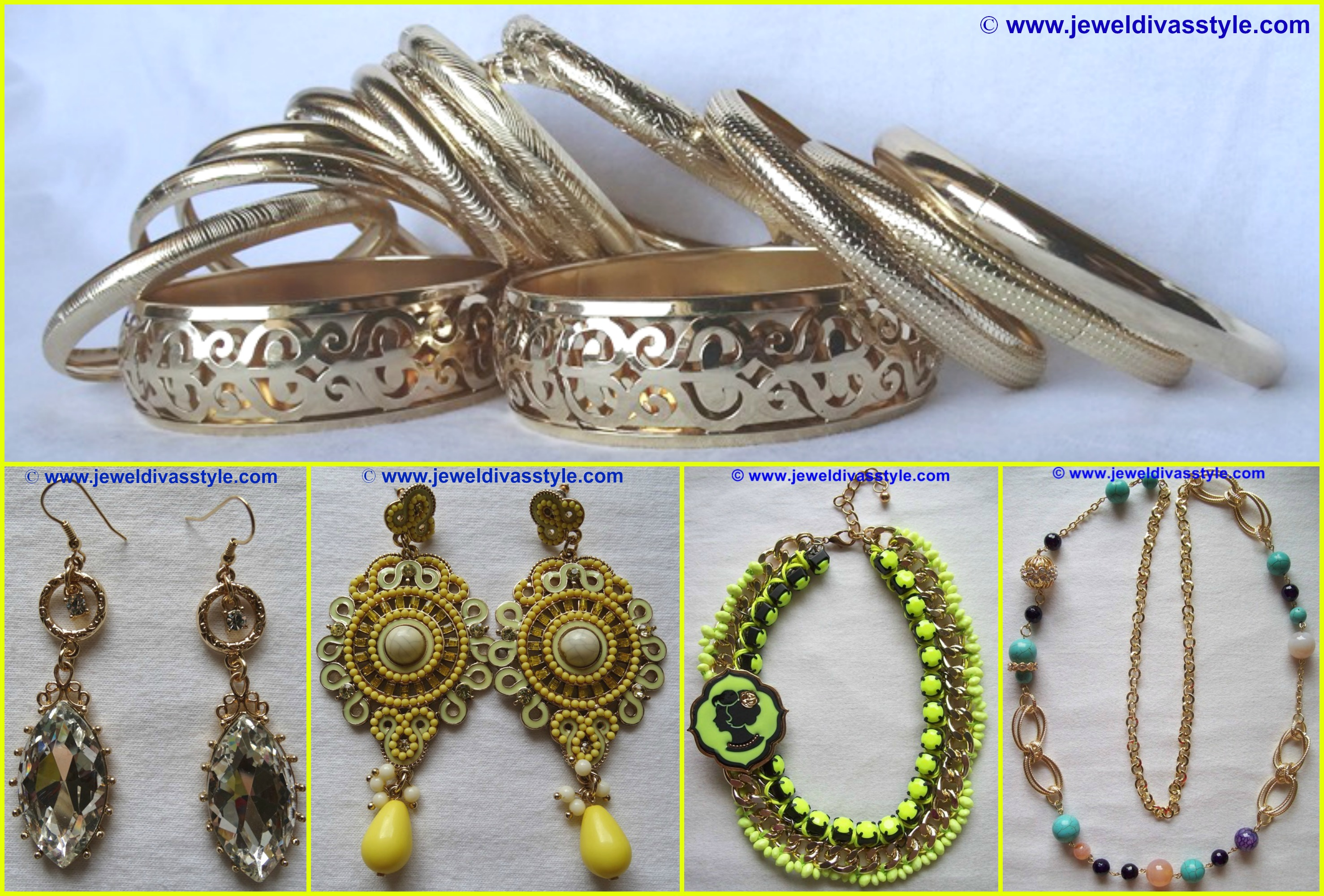 MY PERSONAL COLLECTION: Yellow, Gold and Multi Gold jewellery