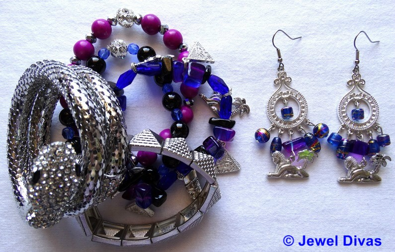 JEWEL DIVAS EVIL EYE JEWELLERY SET