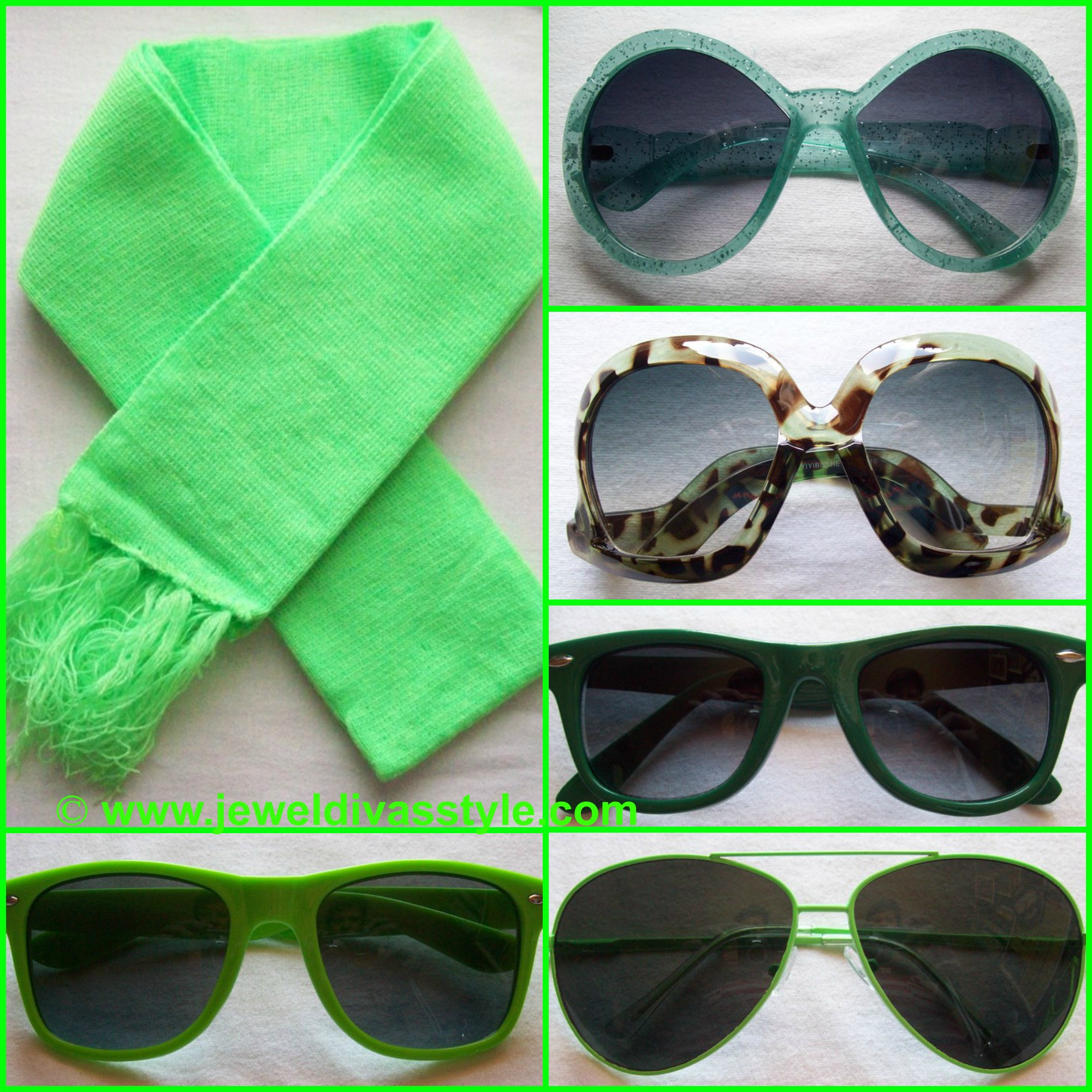 MY PERSONAL COLLECTION: Green Accessories