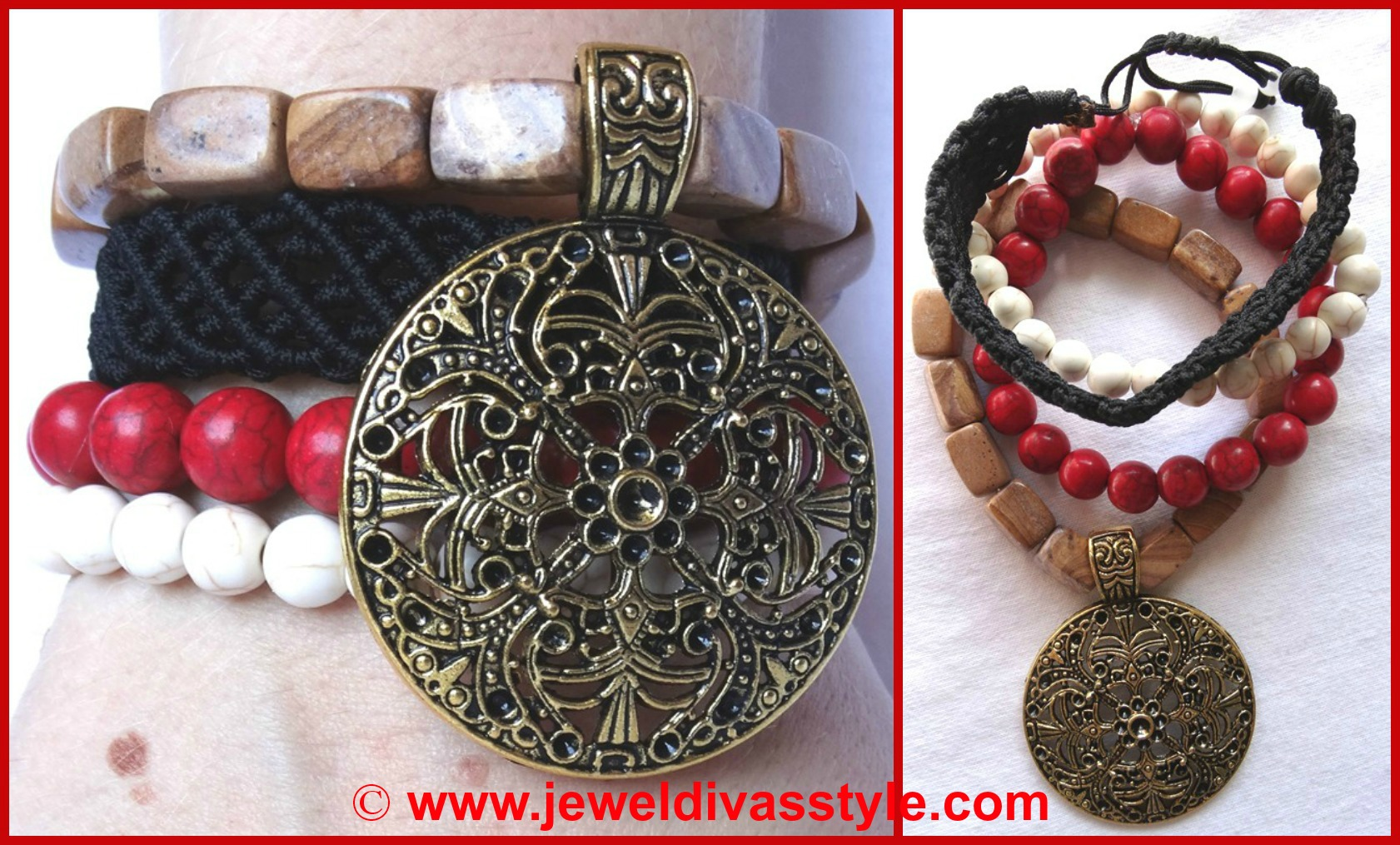JDS GYPSY LEE ROSE BRACELET STACK