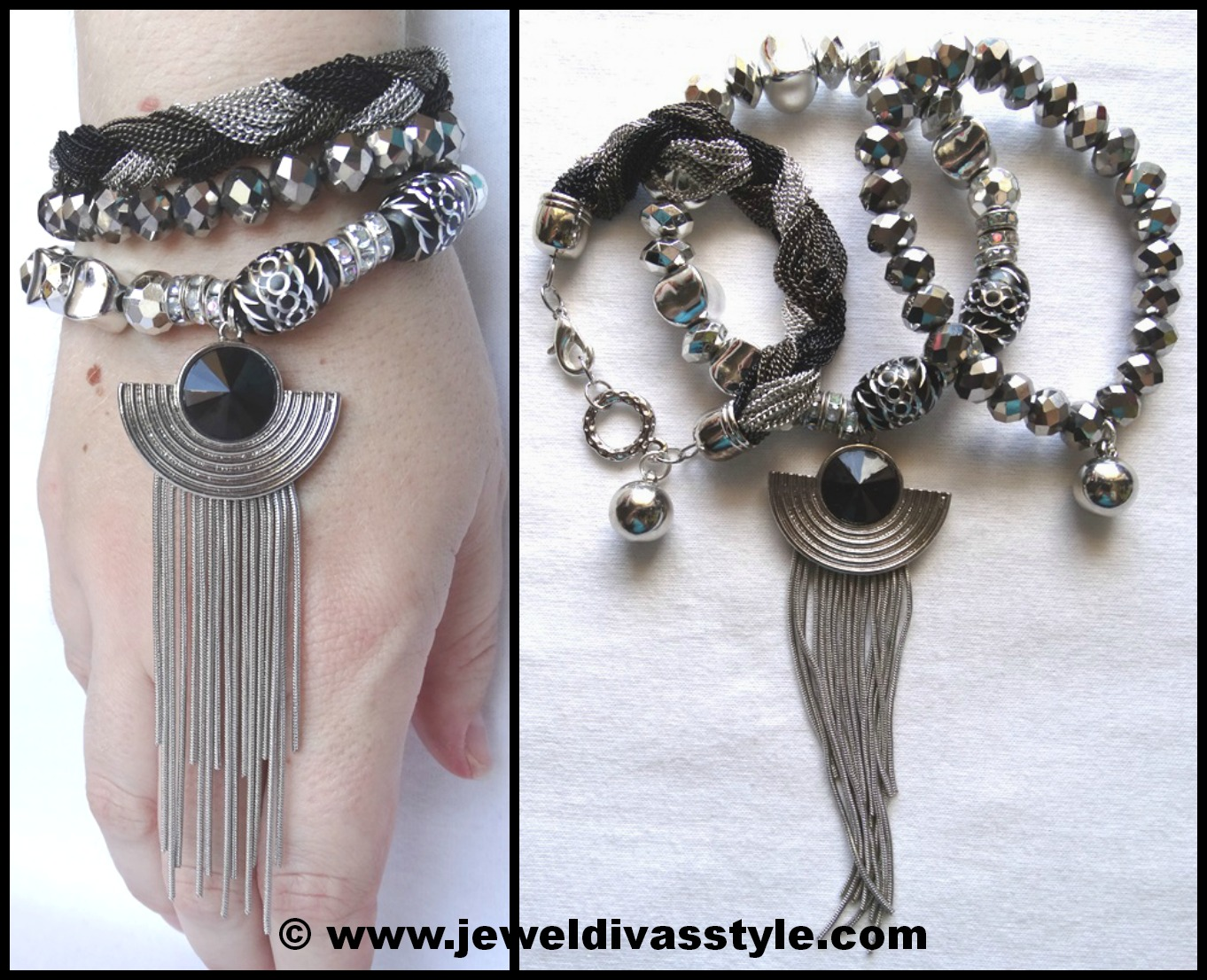DESIGNER INSPIRED: My brand new bracelet stacks