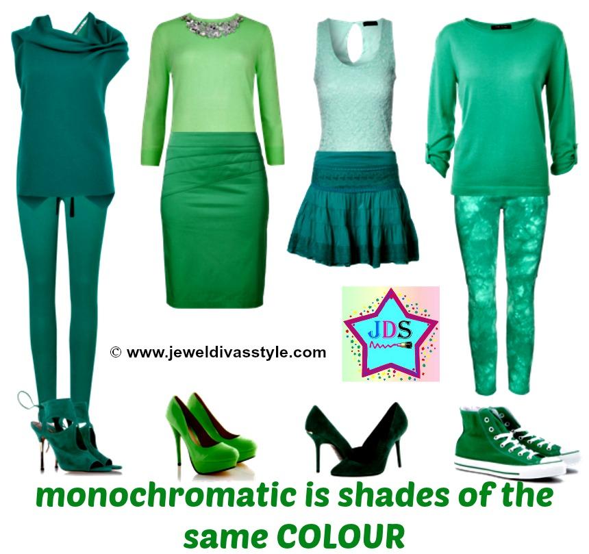 JDS MONOCHROMATIC DRESSING