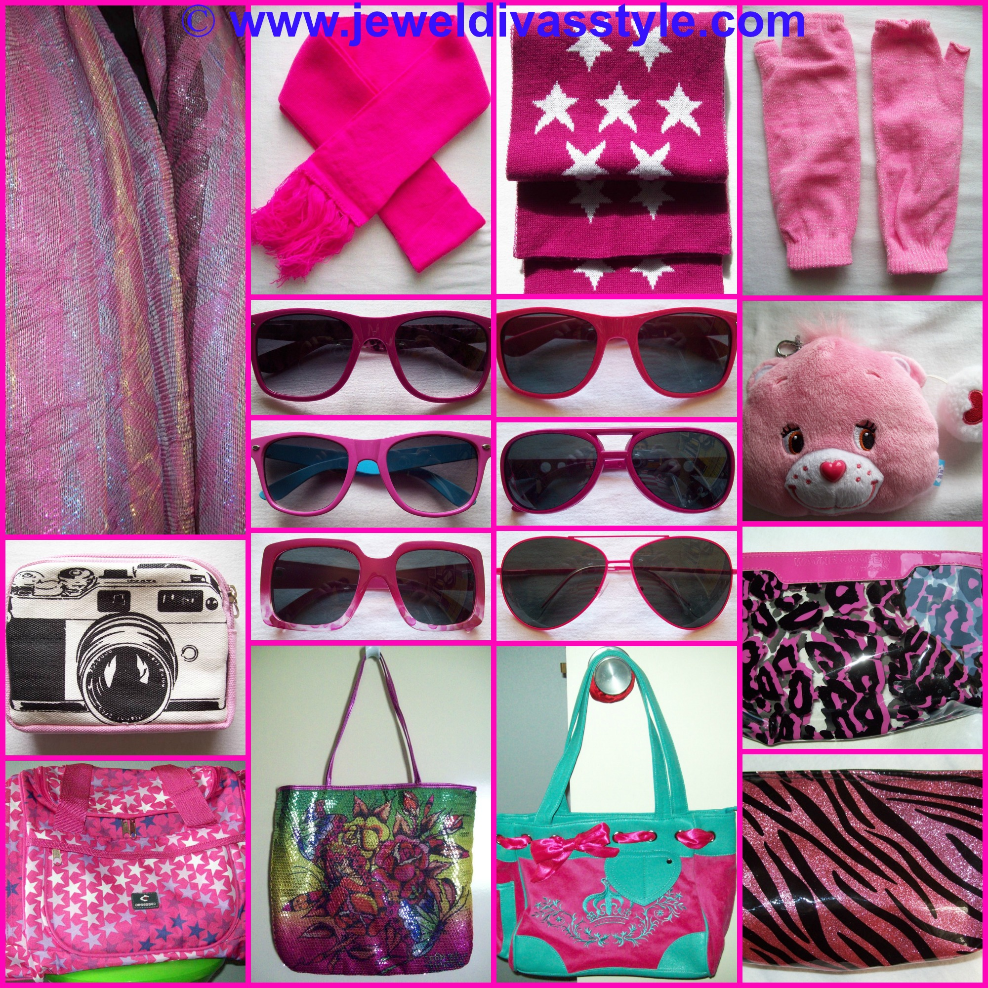 MY PERSONAL COLLECTION: Pink and Purple Accessories