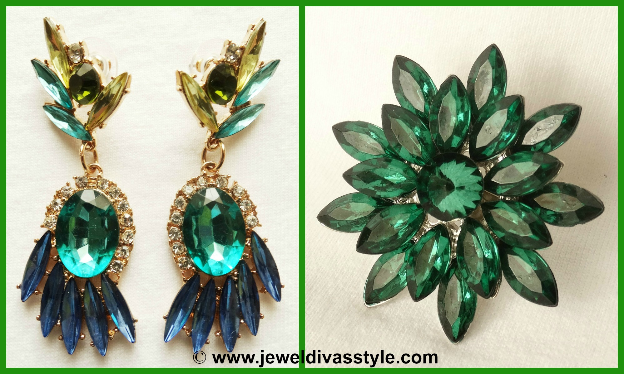 MY PERSONAL COLLECTION: Brand new Green jewels