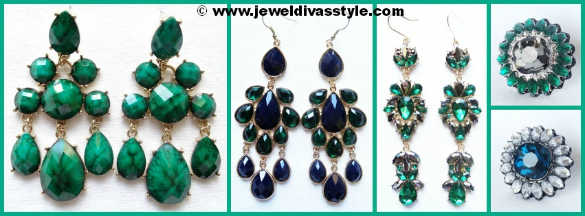 JDS PERSONAL COLLECTION GREEN JEWELS