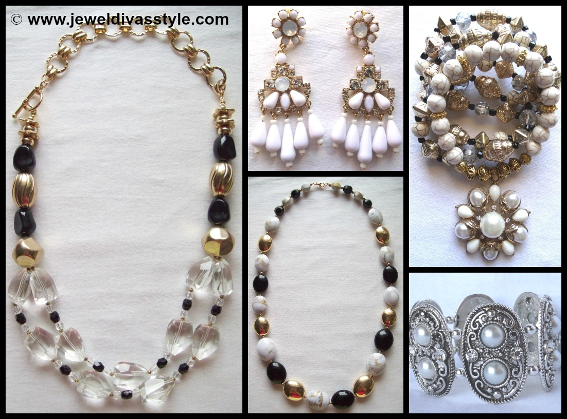 MY PERSONAL COLLECTION: New black, white and brown jewellery