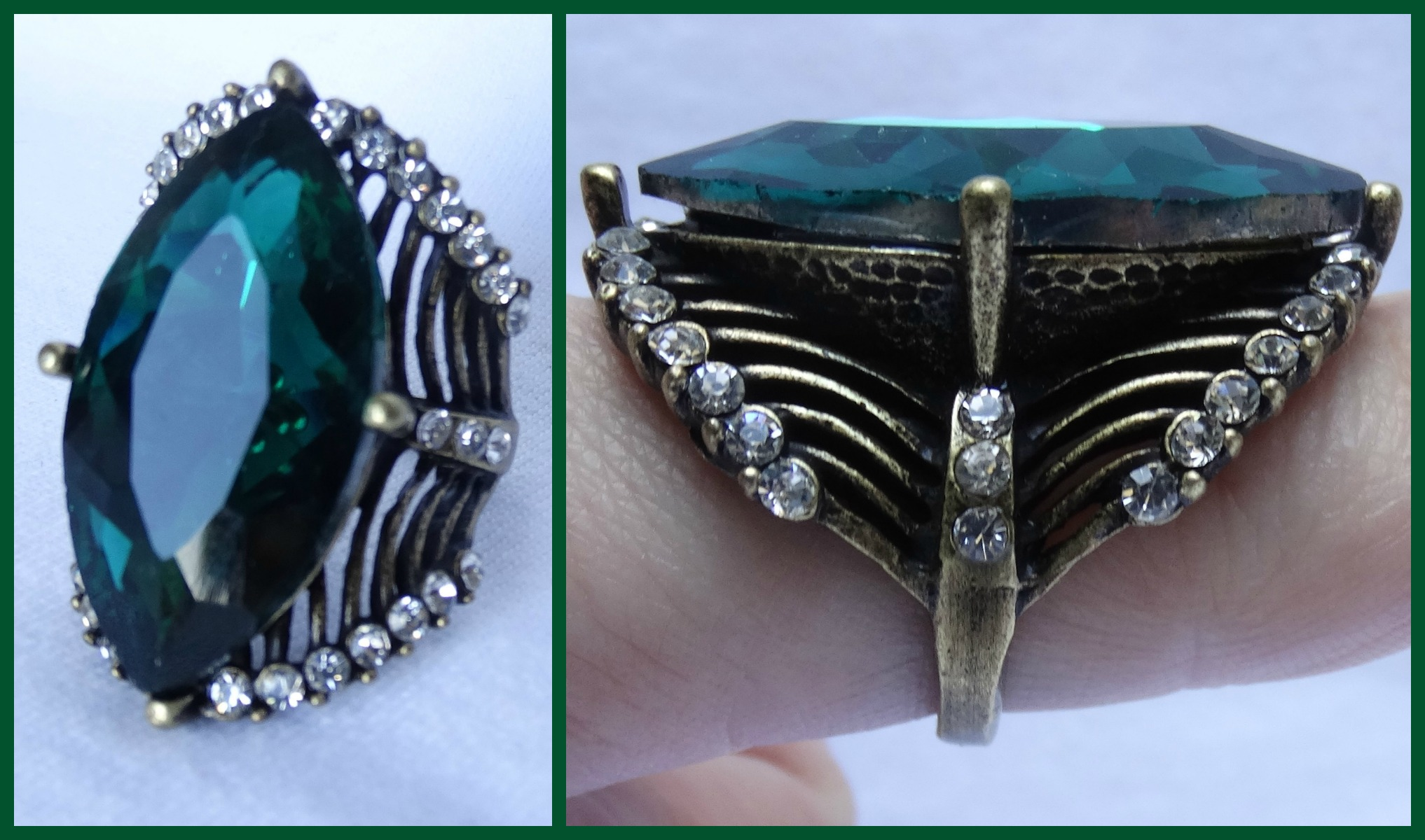 MY PERSONAL COLLECTION: More blue and green jewels