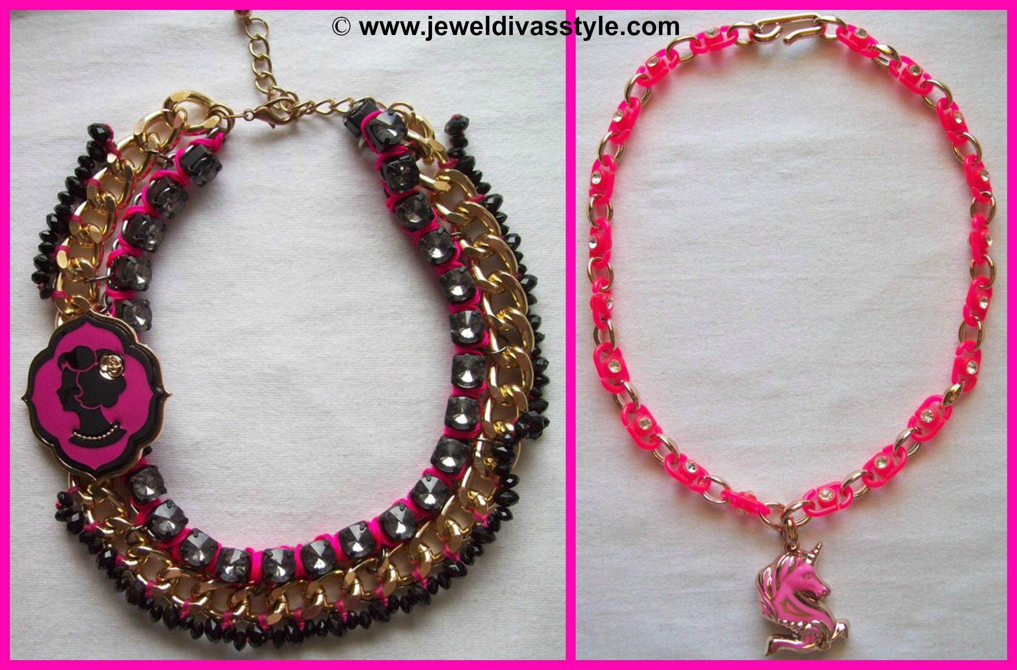 MY PERSONAL COLLECTION: New Red and Pink Jewellery