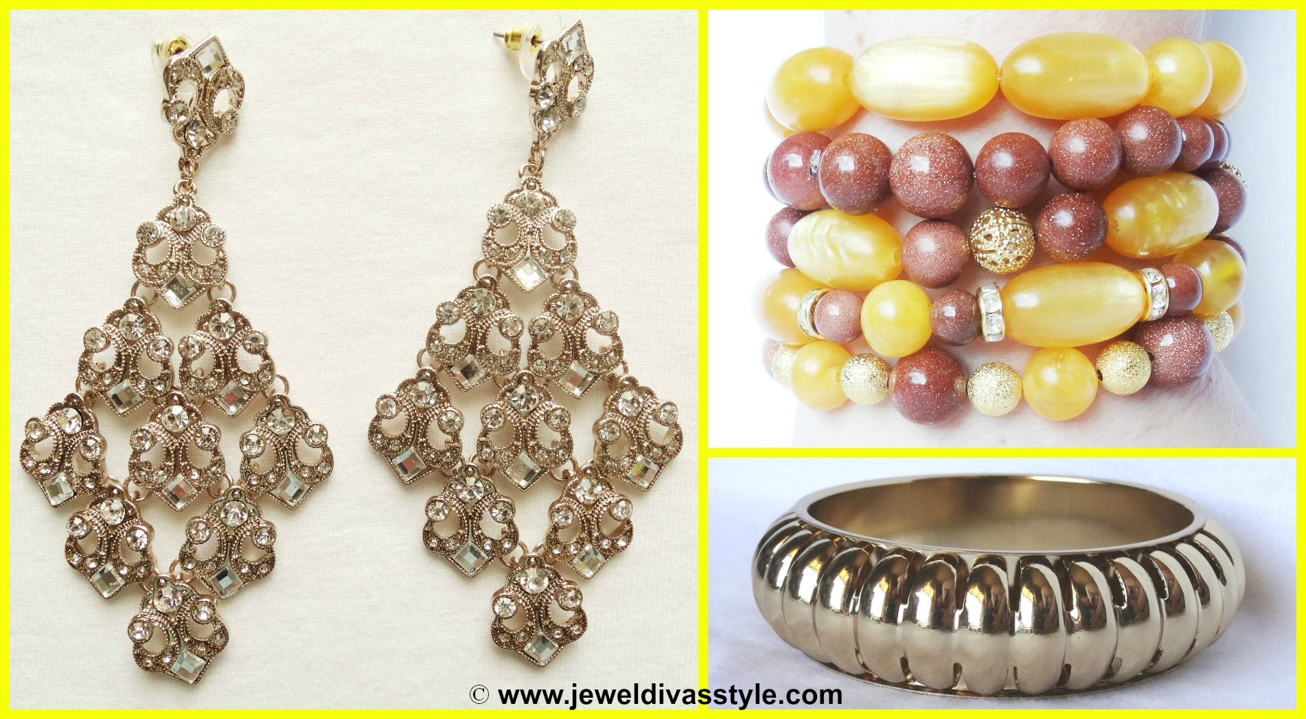 MY PERSONAL COLLECTION: New Yellow, Gold and Gold Multi jewellery