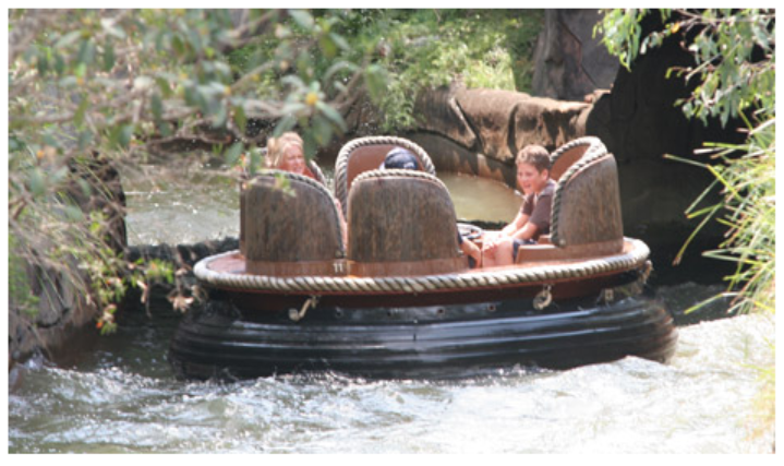 Dreamworld's Thunder River Rapids.