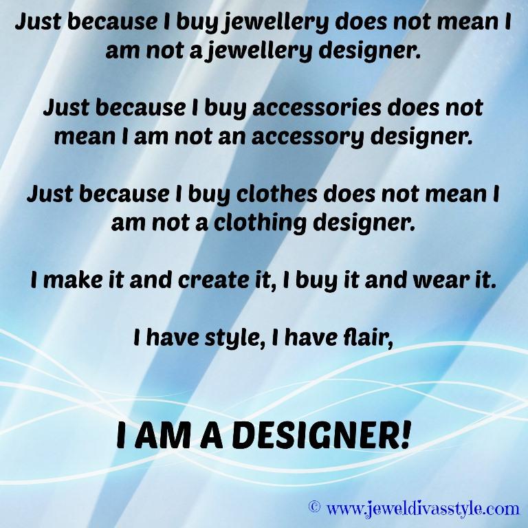 JDS - I AM A DESIGNER