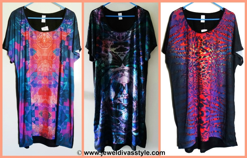 JDS PERSONAL COLLECTION BLACK TUNICS