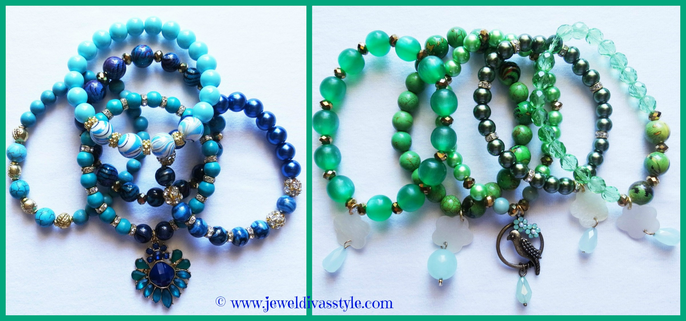 JDS - GREEN BLUE STACKS
